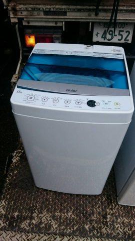 ハイアール2016年製洗濯機