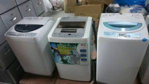 買い取った洗濯機